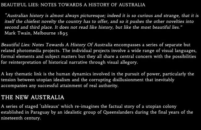 The New Australia